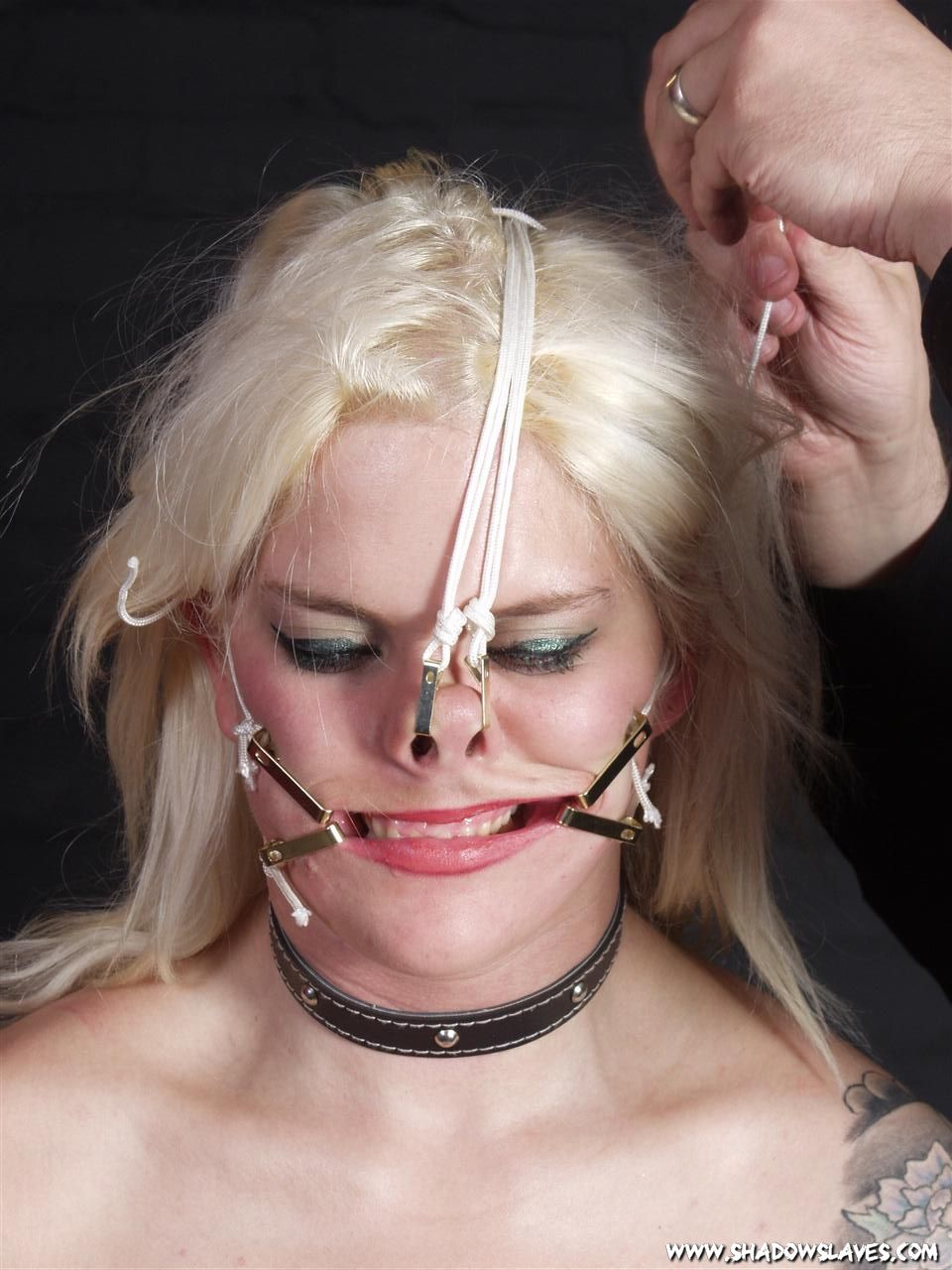 Remarkable Nose facial humiliation bdsm all business