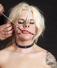 Face Tortured Blonde